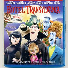 Hotel Transylvania 2013 PG animated movie, not-played Blu-ray Halloween Dracula