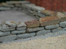 6 Sq Ins REAL Grey Stone Miniature Dry Stone Walling