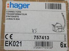 transformateur d'intensité jusqu'à 63A HAGER connector