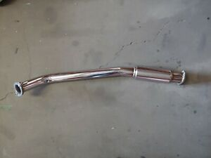 "MK1 Polished Stainless Steel 3.0"" B Pipe Starion"