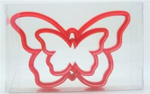 Butterfly Cookie Cutter Set of 2, Biscuit, Pastry, Fondant Cutter