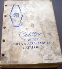 1963 to 1973 Cadillac Master Parts & Accessories Catalog Book Manual 1968 1970