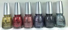 6 China Glaze Nail Polish * Eye Candy Collection Complete 6 Lacquers 1048-1053