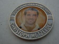 Pin Chip Münze CHRISTOPH METZELDER silberfarben Schalke 04 S04 Fußball DFL