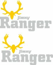 Suzuki Jimny Ranger decals sticker graphics side restoration custom SZ3 SZ4 4x4