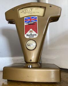 Vintage Avery Shop 2lb Scales Drams Tobacco/Sweets Bronze Gold Marlboro Display