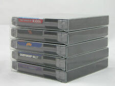 100 NES Cartridge Box Protectors. Clear Case Works w/ dust covers