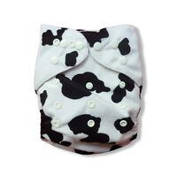 Alva Cloth Diaper Reusable Baby Minky Washable Pocket Nappy + 1 Insert Caw
