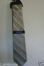 CROFT & BARROW ABINGTON STRIPE  MEN'S SILK TIE NWT $32