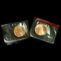 1991 P+D  Lincoln Memorial Penny ~ Uncirculated Coins Original Mint Cello