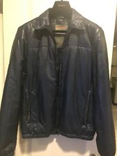 Prada nylon zip jacket royal blue men's size EU 48