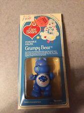 VTG 1982 Sealed Care Bears Posable Figure Grumpy Bear Blue Kenner MIB MOC Au1