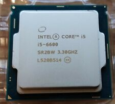 Intel Core 6M Cache 3.30 GHz Processor (i5-6600) (Turbo Boost 3.9 GHz)