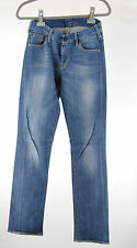 7 For All Mankind Jeans 29/28 bleu Kimmie straight leg top pantalon