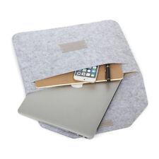 "NEW Felt Soft Sleeve Laptop Bag Case Handbag 11""/12""/13""/15""inch for MacBook Pro"