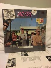 AC/DC DIRTY DEEDS DONE DIRT CHEAP LP 1976 FIRST US PRESS FROM 1981 SHRINK HYPE!