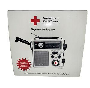 American Red Cross FR300 Emergency Radio by Eton - White