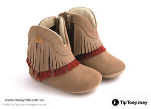 NEW Tip Toey Joey Baby Shoes - WESTY *40% SALE* (More Colours)
