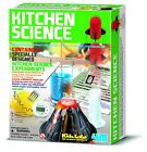 NEW Kitchen Science Kit Educational Toy For Children W/ 6 Fun Experiments By 4M