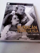 """DVD """"HURACAN SOBRE LA ISLA"""" PRECINTADO SEALED JOHN FORD CON FUNDA CARTON"""