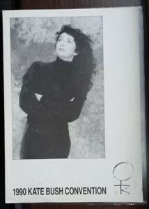 Kate Bush: Official Fan club Newsletter Application +Convention Ticket 1990 RARE