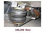 FBX-R-PEU-06 1991-2006 Peugeot 106  Saxo Rear Air Suspension ride kit