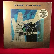 Latin Quarter Modern Times 1985 UK Vinyl LP Exzellenter Zustand