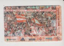 Sammler used Seizoen Club Card Ajax Amsterdam 2000/2001