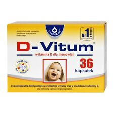 D-Vitum vitamin D for babies/dla niemowląt-36 twist off capsules