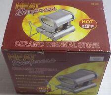 Heat Exxpress Professional Ceramic Heater Stove Maintain 825c Degree Fahrenheit