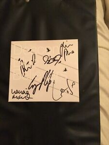 DEACON BLUE,BELIEVERS,SIGNED EDITION