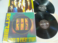 "Extreme III Sides To Every Story 1992 Spain Edition - 2 x LP Vinilo 12"" G+/VG"