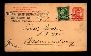 1926 Uprated Stamp Dealer Card to Germany / Very Minor Creasing - L29365