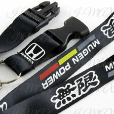 Mugen Lanyard Keychain Quick Release Key Chain Strap HONDA ACCORD CIVIC -Black