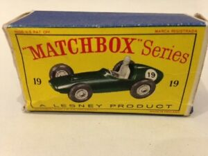 Matchbox Lesney No. 19 - Aston Martin Racer - Boxed