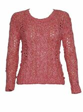 Women's Cotton Blend Scoop Neck Jumpers/Cardigans