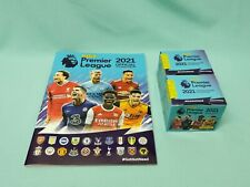 Panini Football 2021 Premier League Sammelalbum + 2 x Display   Album