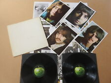 THE BEATLES The White Album 2x LP NUMBERED UK 1968 PRESSING & POSTER & PHOTOS