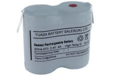 Yuasa 2DH4-0T3, 2.4V 4AH Ni-Cd Rechargeable Emergency Lighting Battery Pack