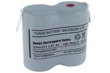 Yuasa 2DH4-0T3, 2.4V 4AH Ni-Cd Rechargeable Emergency Lighting Battery Pack