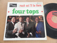 """DISQUE 45T DE FOUR TOPS  """" REACH OUT I'LL BE THERE """""""