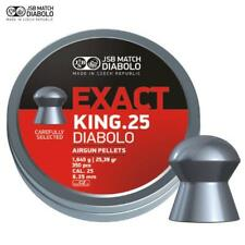 JSB Exact King .25 Air Rifle Pellets Air Gun Ammunition Full Tins 350