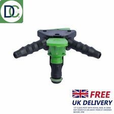 1 x Delphi 2 Way Injector Back Leak Off Connector for Jeep Injectors R00002D
