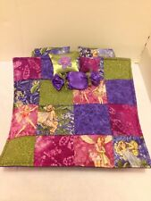 FAIRY QUILT Double Bed For Monster High, Barbie, And Bratz Dolls
