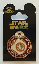 BB-8 Join the Resistance Spinner Pin Star Wars The Force Awakens Disneyland WDW