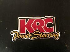 KRC Power Steering decal sticker nascar hot rod arca tilton nhra racing race car
