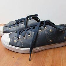 Evisu Mens Shoes Size 7 Blue Leather...Good Shoes...