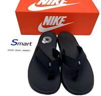 NEW Multi-Size MEN WOMEN Nike Kepa Kai Thong Sandals Slippers Flip Flops Black