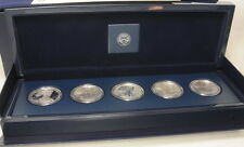 2011 American Silver Eagle 25Th Anniversary 5 Coin Set US Mint
