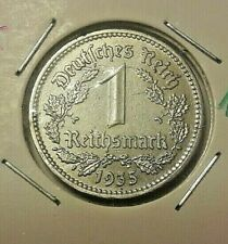 ===>>5 Deutsche Reich Medal 1935 Allemagne Germany FDC 1 Reichsmark A <<=== Rare